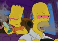Stoned Simpsons