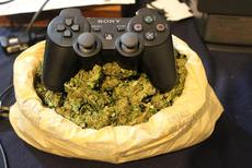 video games and weed