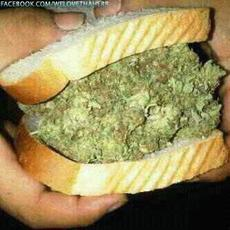 weed sandwich