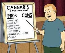 Cannabis pros and cons