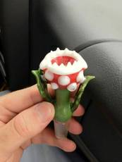 mario plant monster pipe