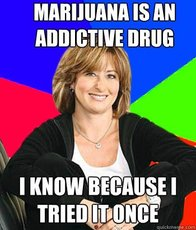 Marijuana is an addictive drug